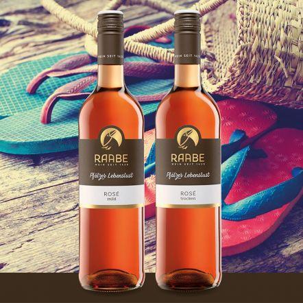 Weinpaket Rosé Der Sommer mit Roséwein