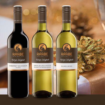 Weinpaket Weihnacht Nur das Beste zum Feste