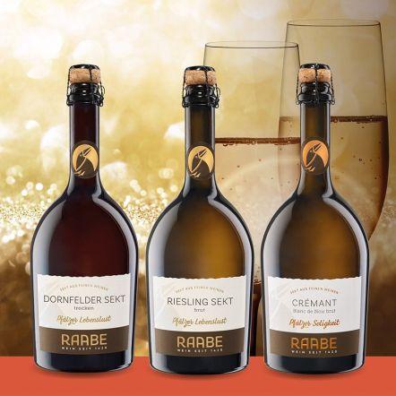 Weinpaket Sekt Für das Besondere