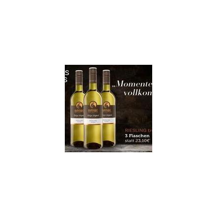 Wein des Monats Riesling trocken 2018