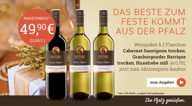 Weingut Raabe - Weinpaket November