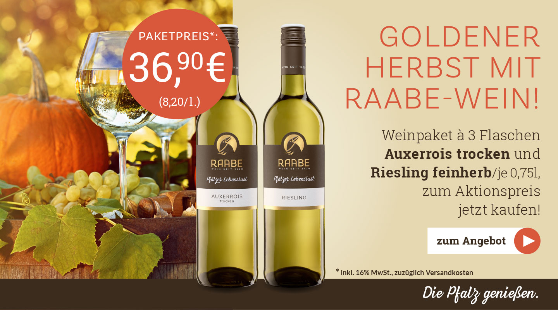 Weingut Raabe - Weinpaket September