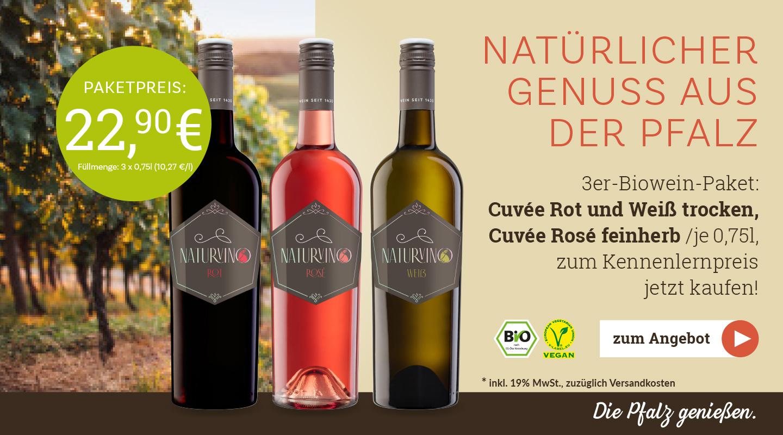 Weingut Raabe - Weinpaket Naturvino